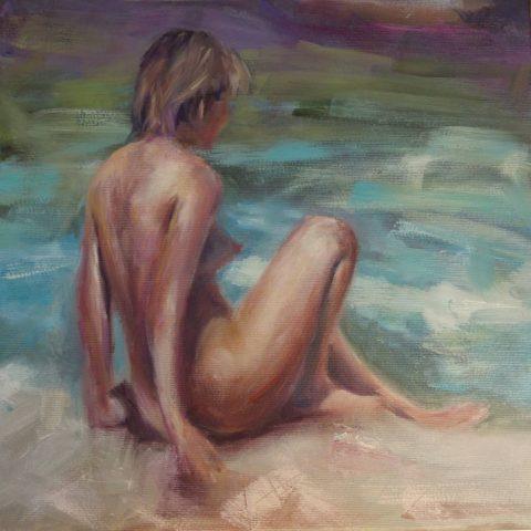 Teresa Cami pintura obra nudista