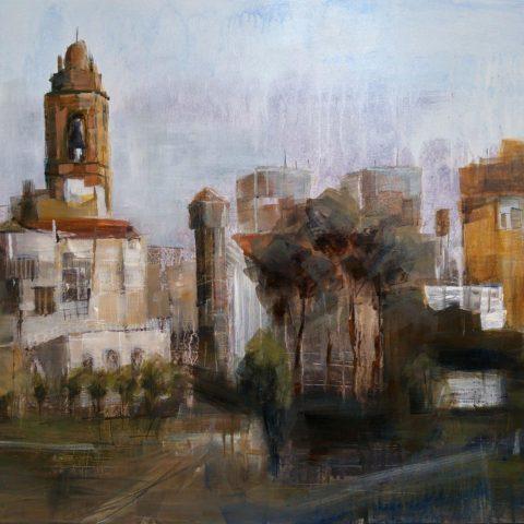 Teresa Cami pintura rapida obra La Senia