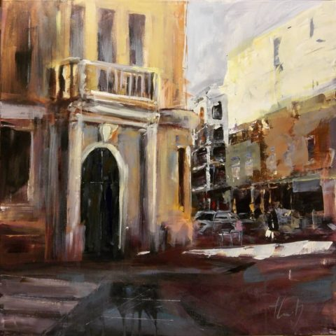 Teresa Cami pintura obra paisaje urbano