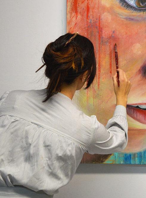 Teresa Cami arte retrato