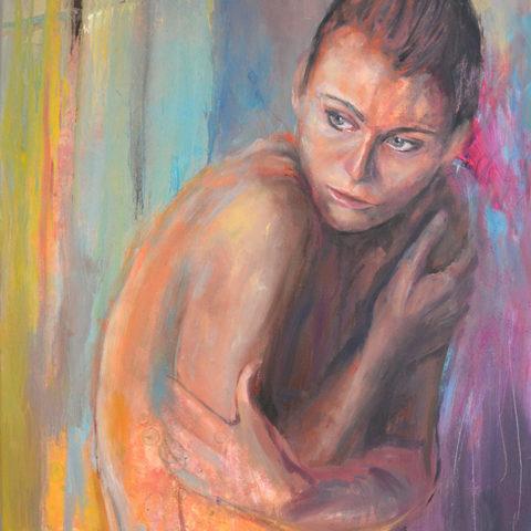 Teresa Cami violencia de genero pintura