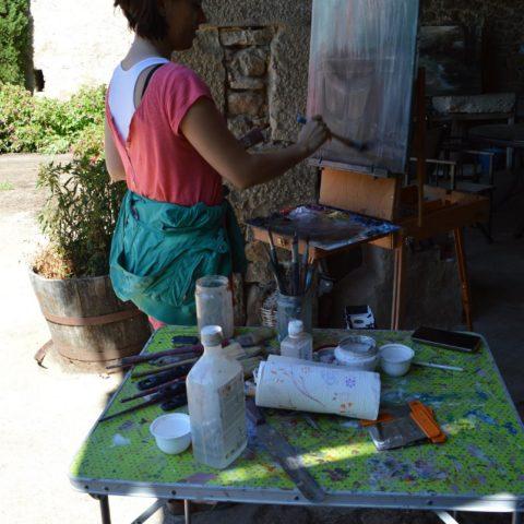 Teresa Cami festival de pintura