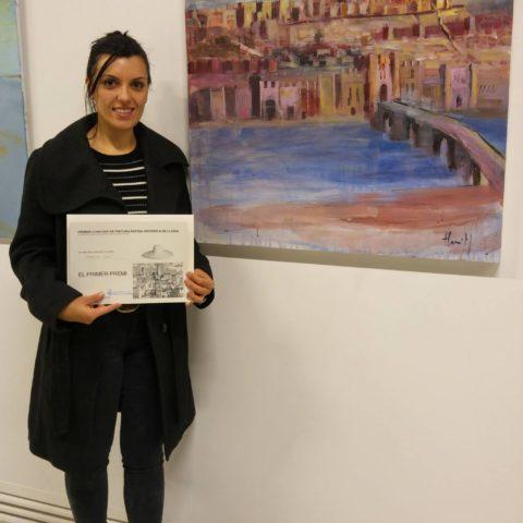 Teresa Cami premi pintura medieval Lleida